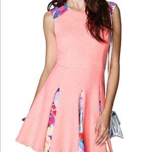 Nasty Gal Fractal Prism Dress Women's XS